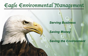 Eagle's focus:  serving business and the environment
